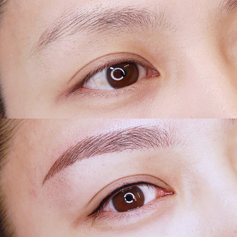 eyebrow enhancement Semi Permanent makeup — beauty artist studio