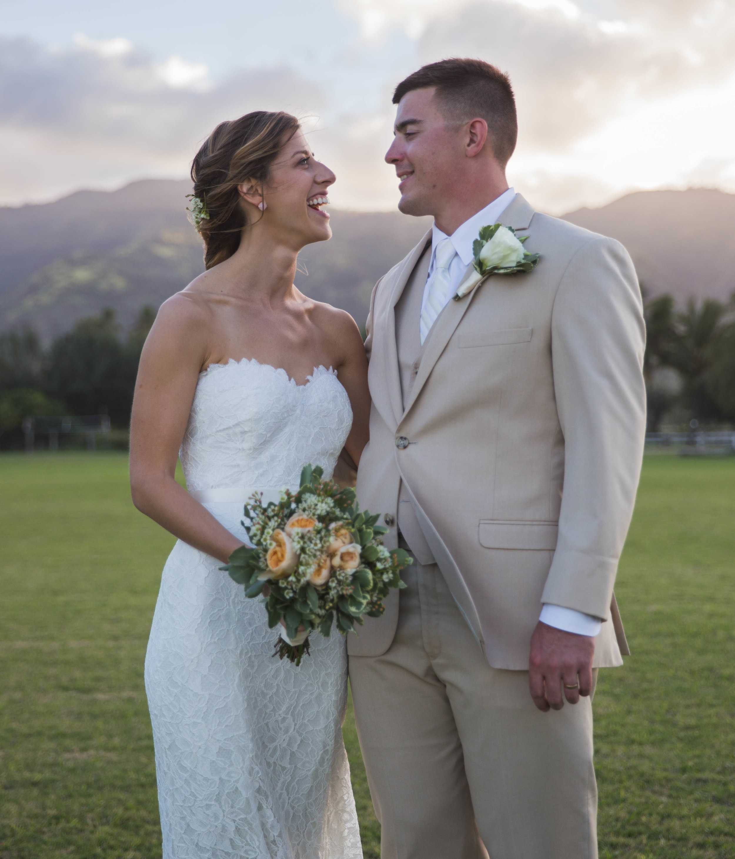 Destination weddings are my favorite! - Like this one on the North Shore of Oahu…
