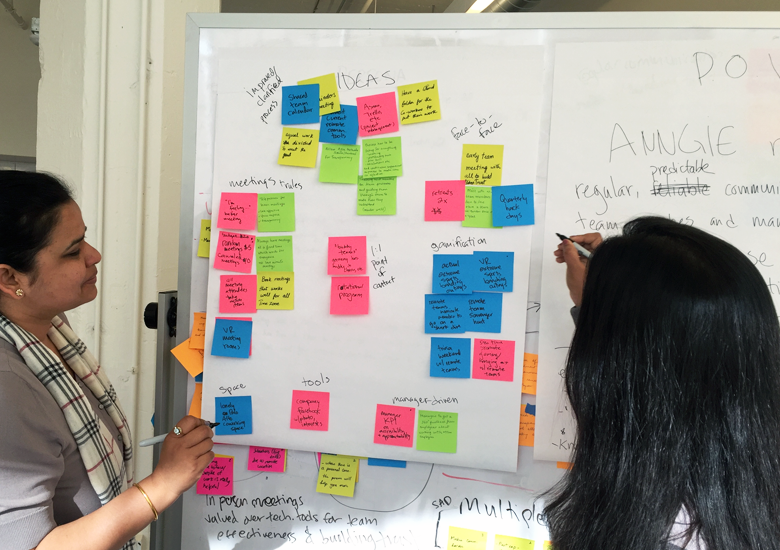 We created a persona from our user interviews and problem synthesis.