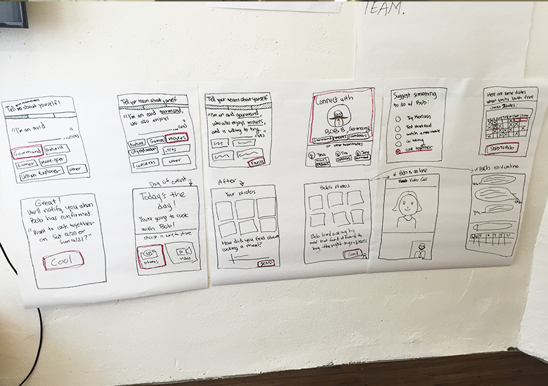 The final version with user feedback incorporated that we presented.