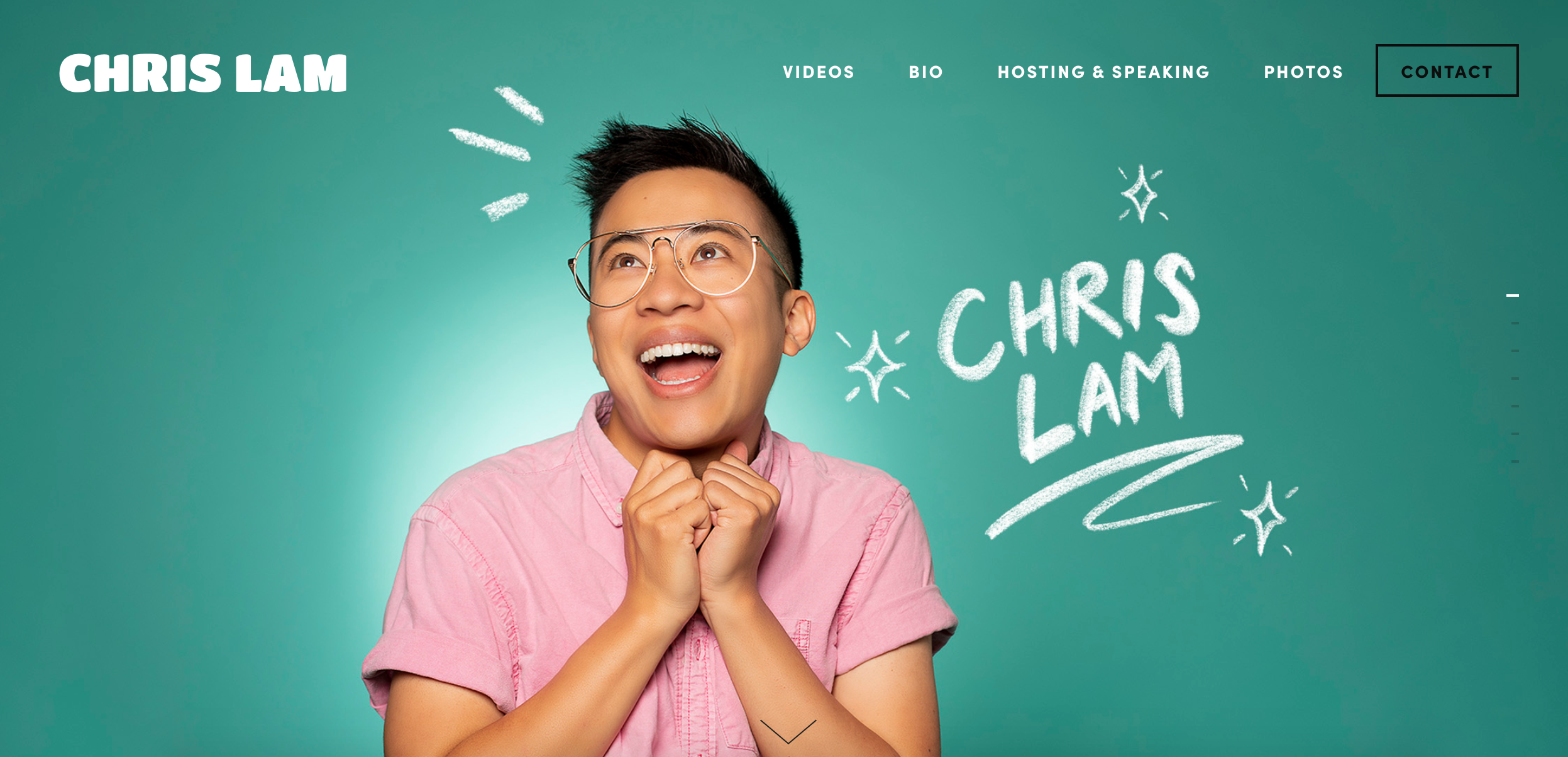 Chris lam website
