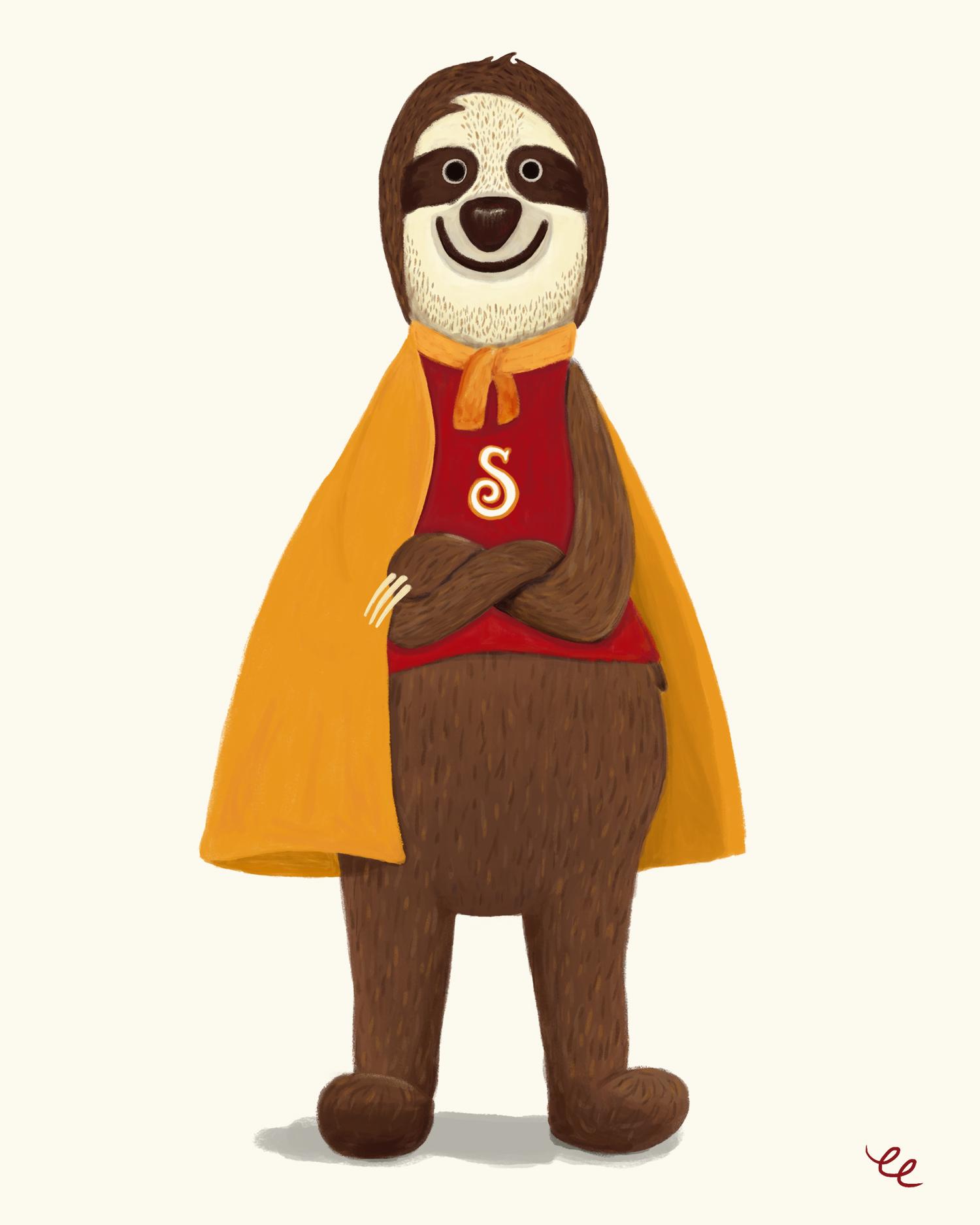 WEEK 2:  Super Sloth