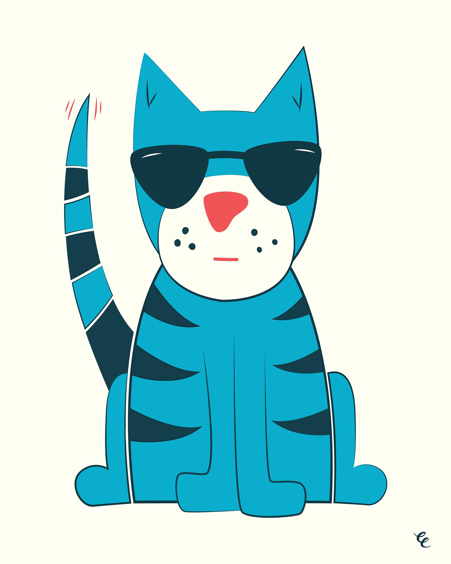 WEEK 7:  Cool Cat