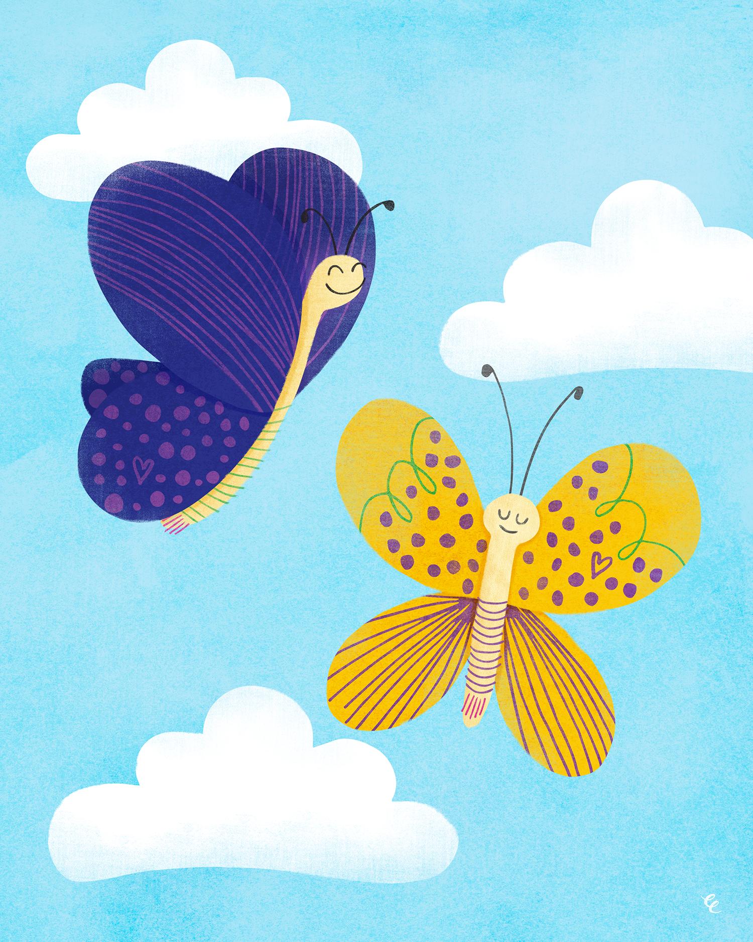 WEEK 12:  Celestial Butterflies