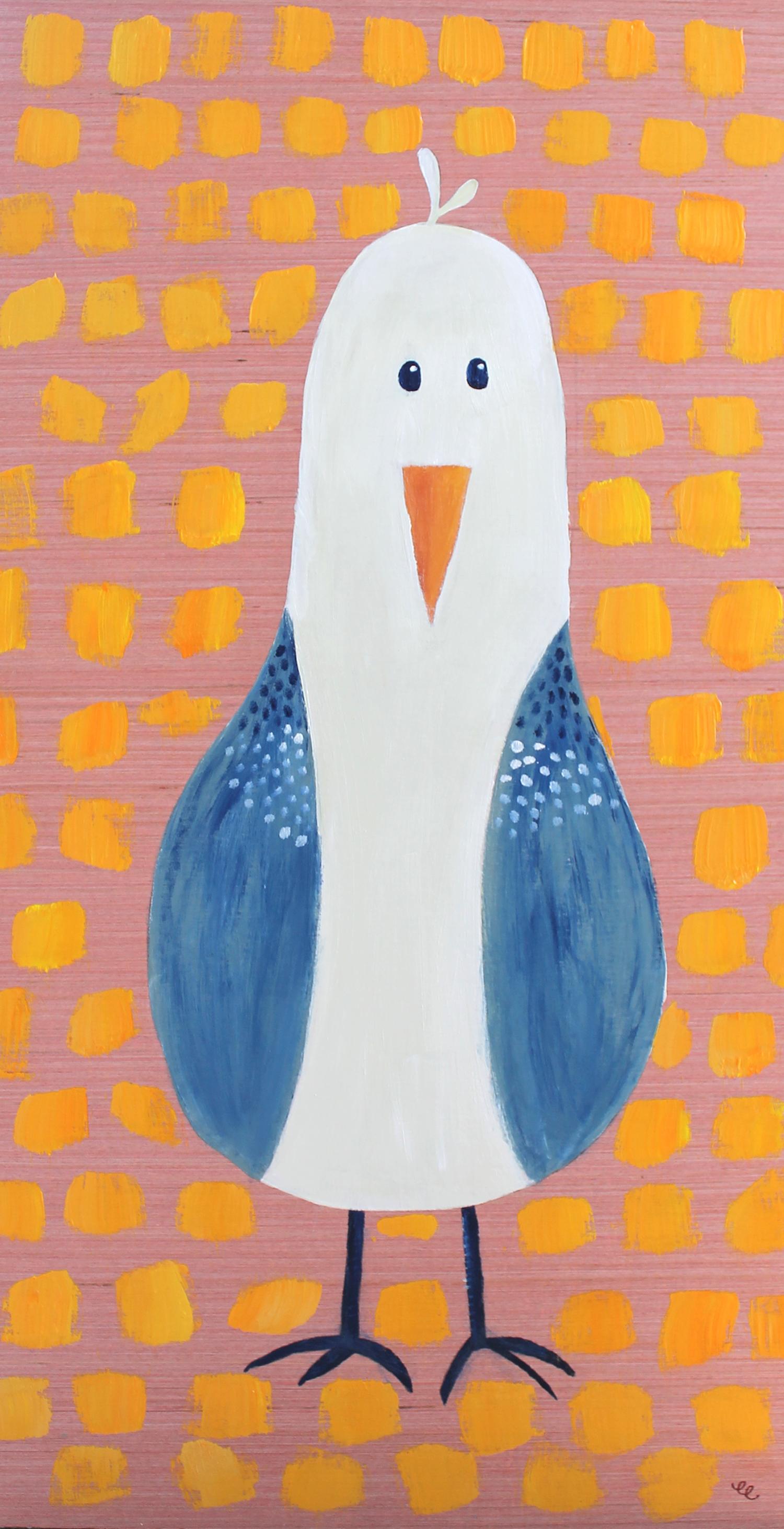 WEEK 14:  Acrylic Seagull