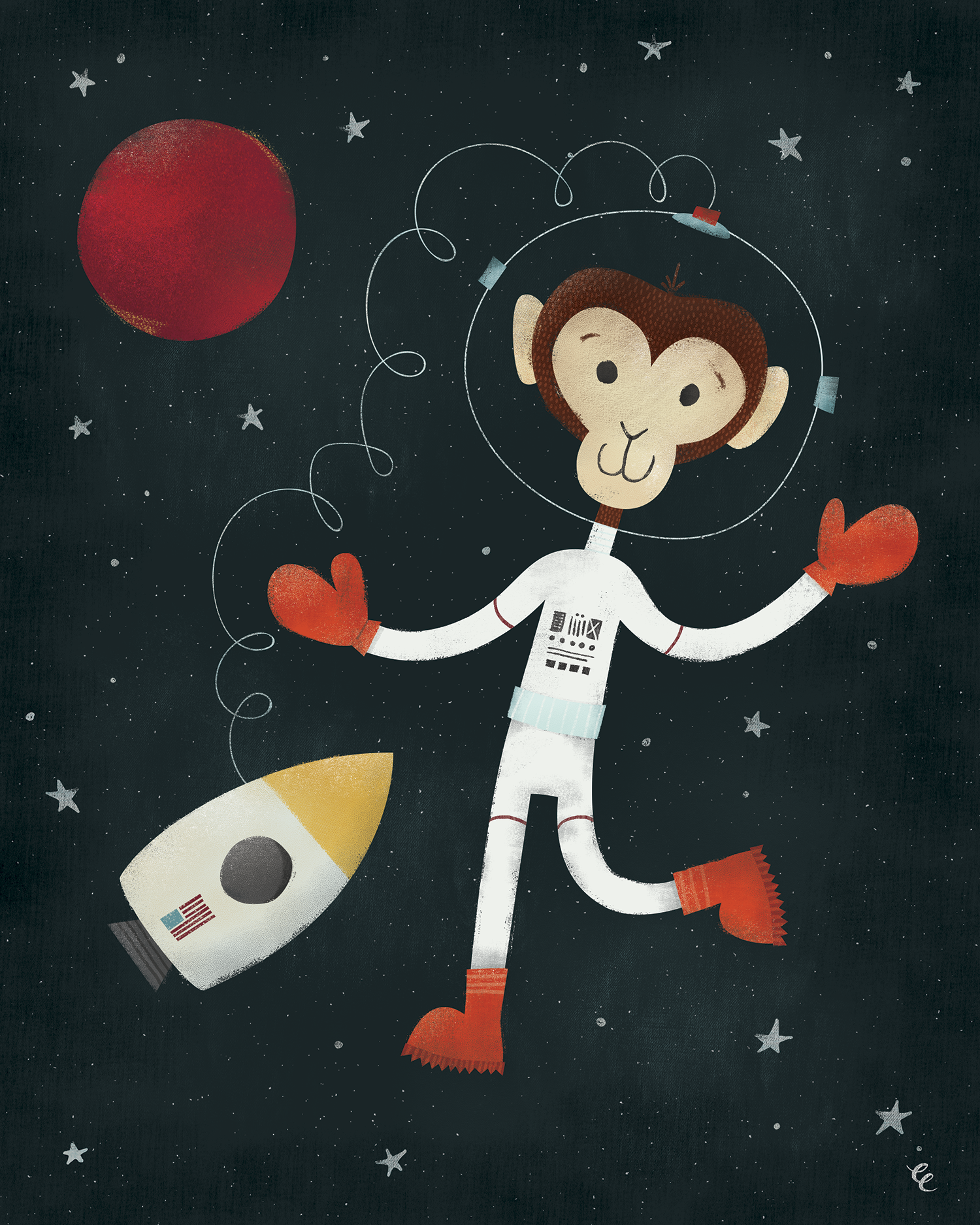 WEEK 15:  Spacewalking Monkey