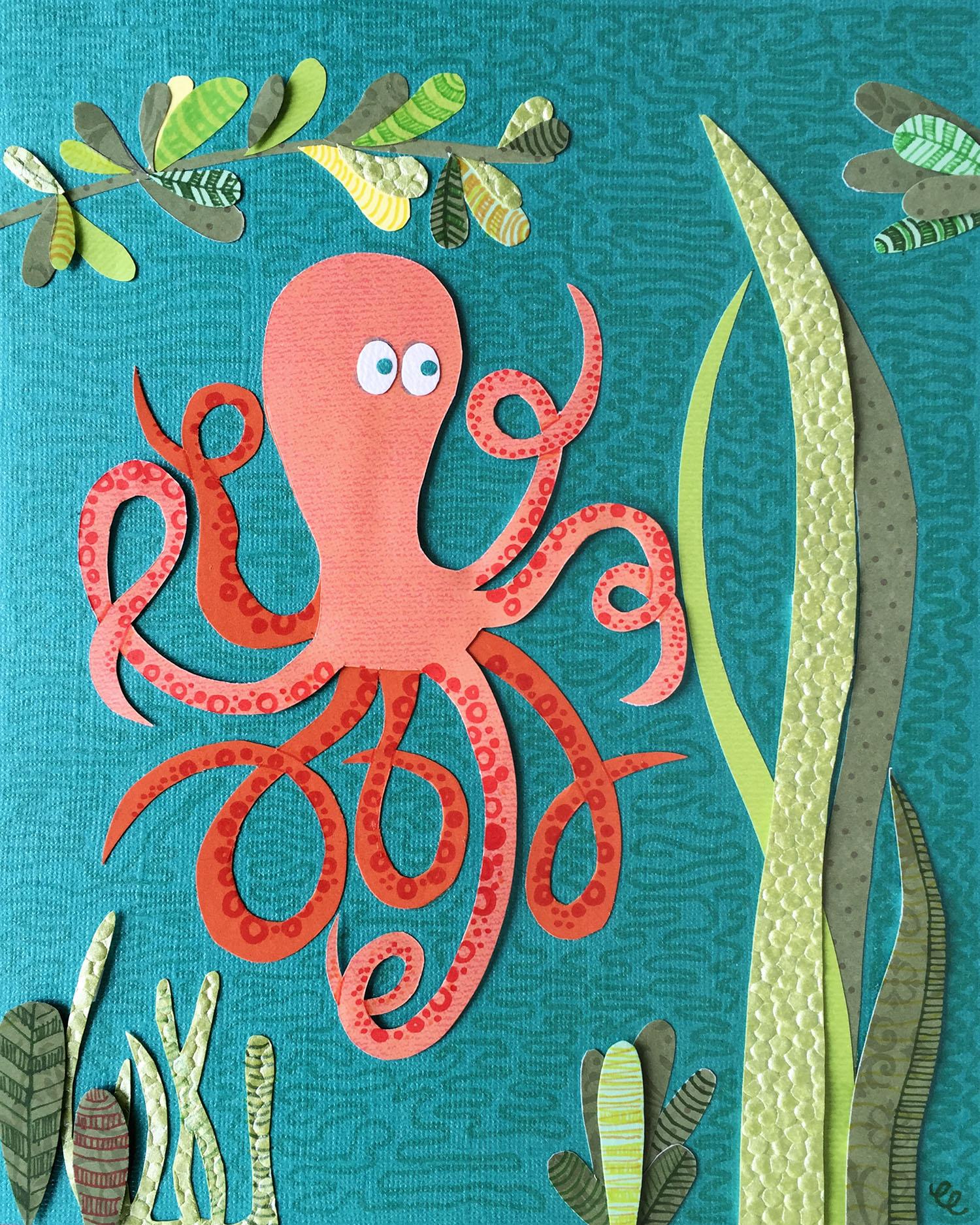 WEEK 20:  a Paper Octopus