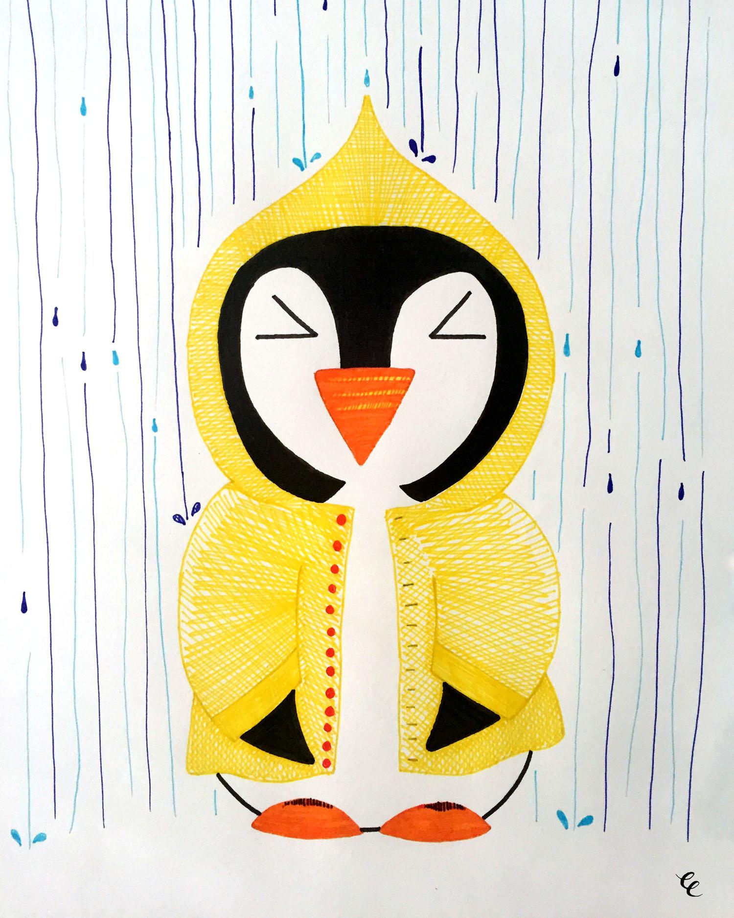 WEEK 23:  a Wet Penguin