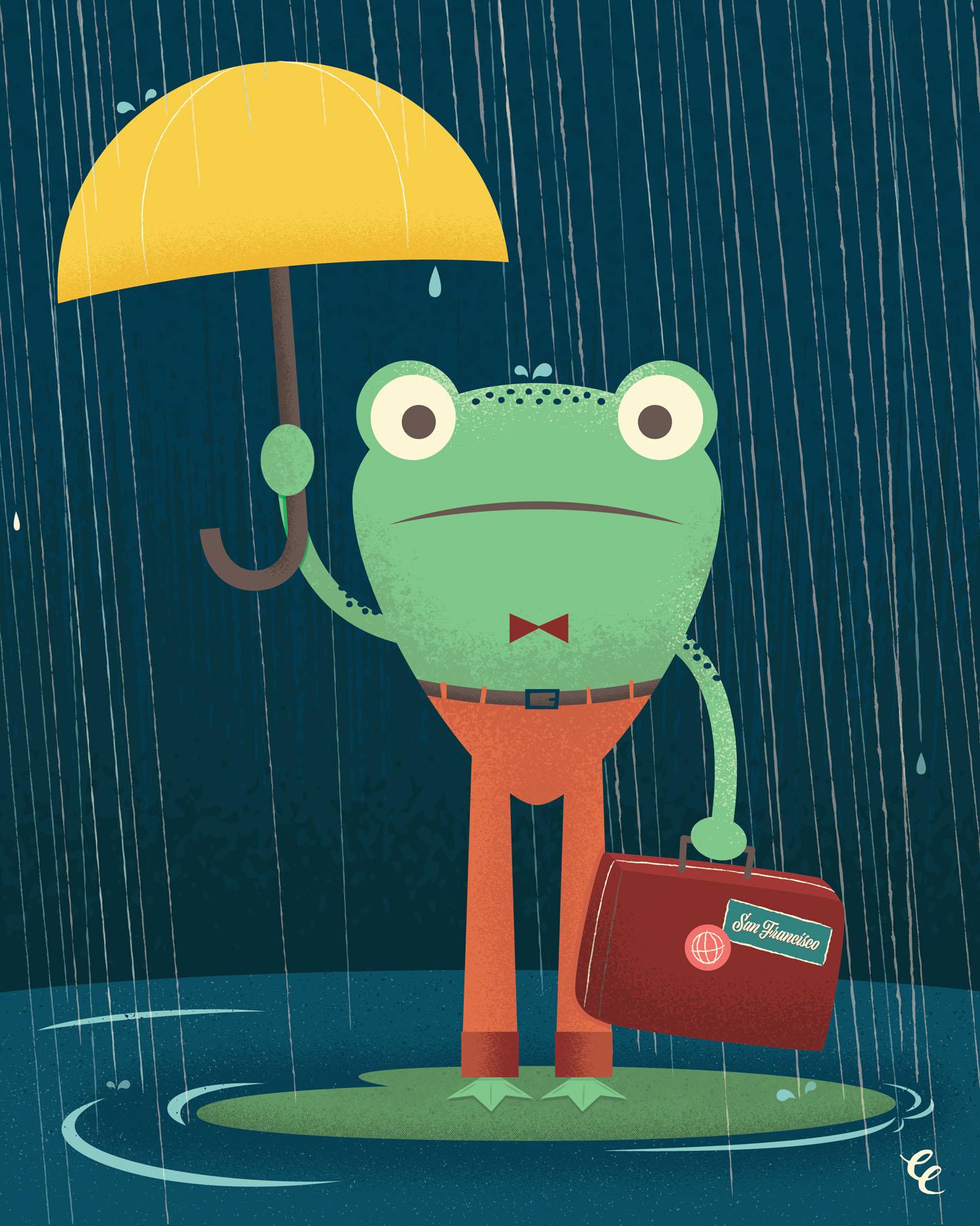 WEEK 25:  a Wandering Frog