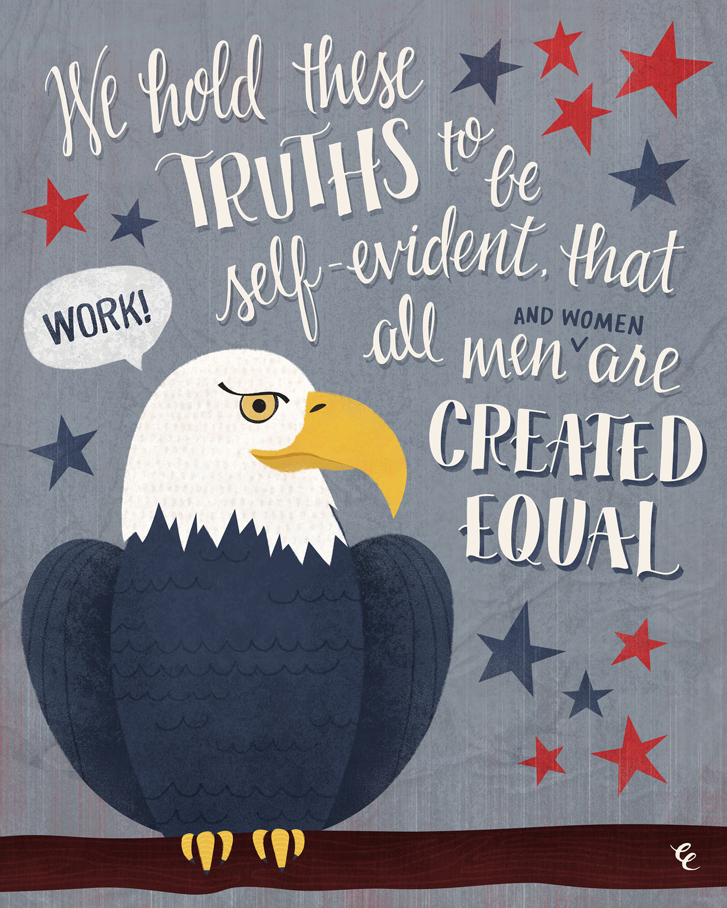 WEEK 26:  an Equitable Eagle