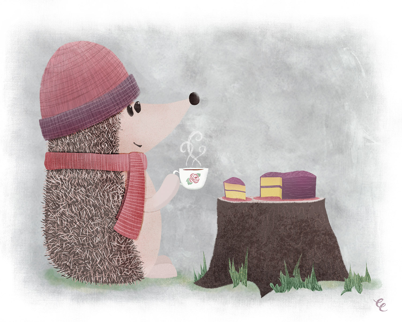 WEEK 29:  Henry the Hedgehog has Tea and Cake
