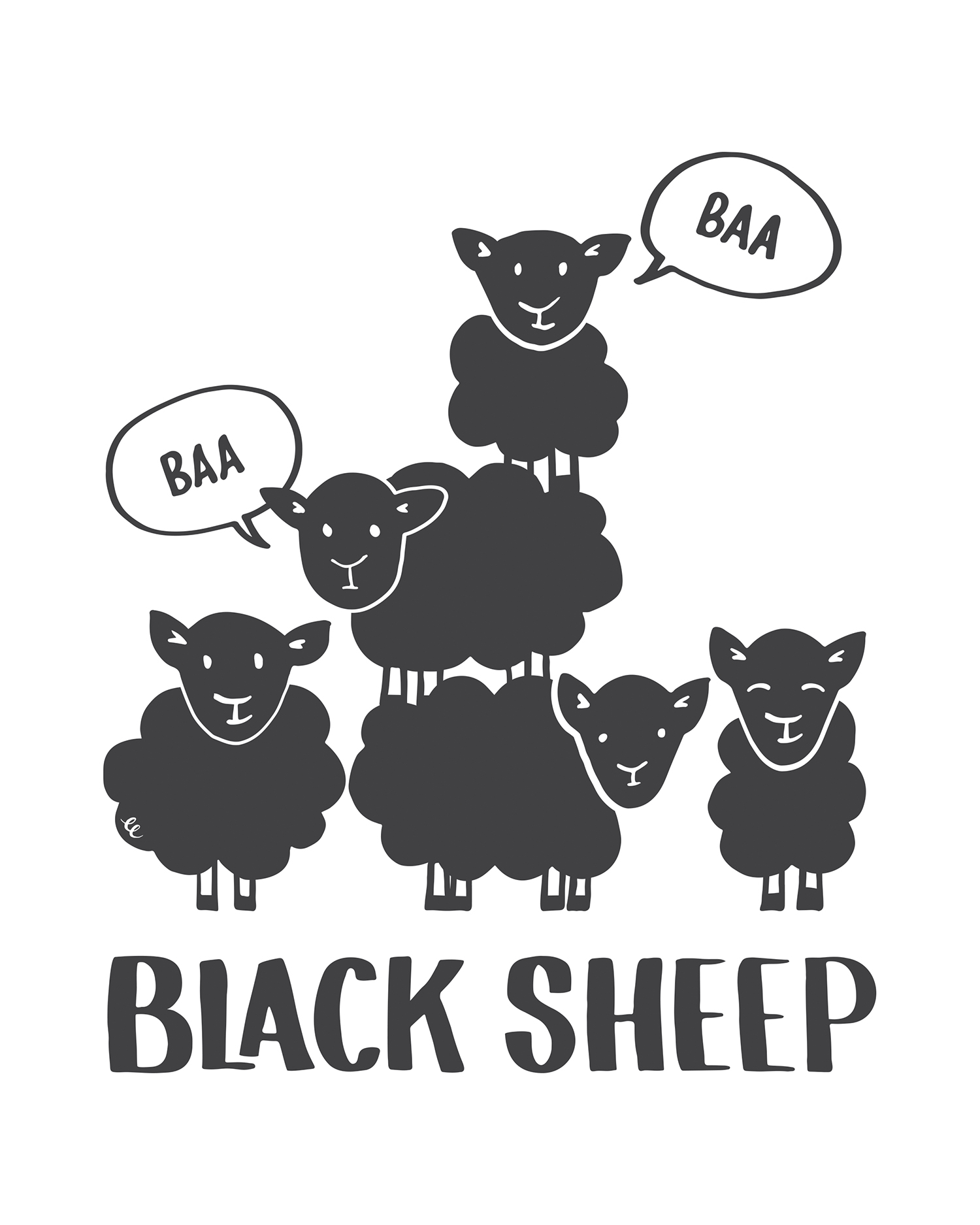 WEEK 30:  Baa Baa Black Sheep