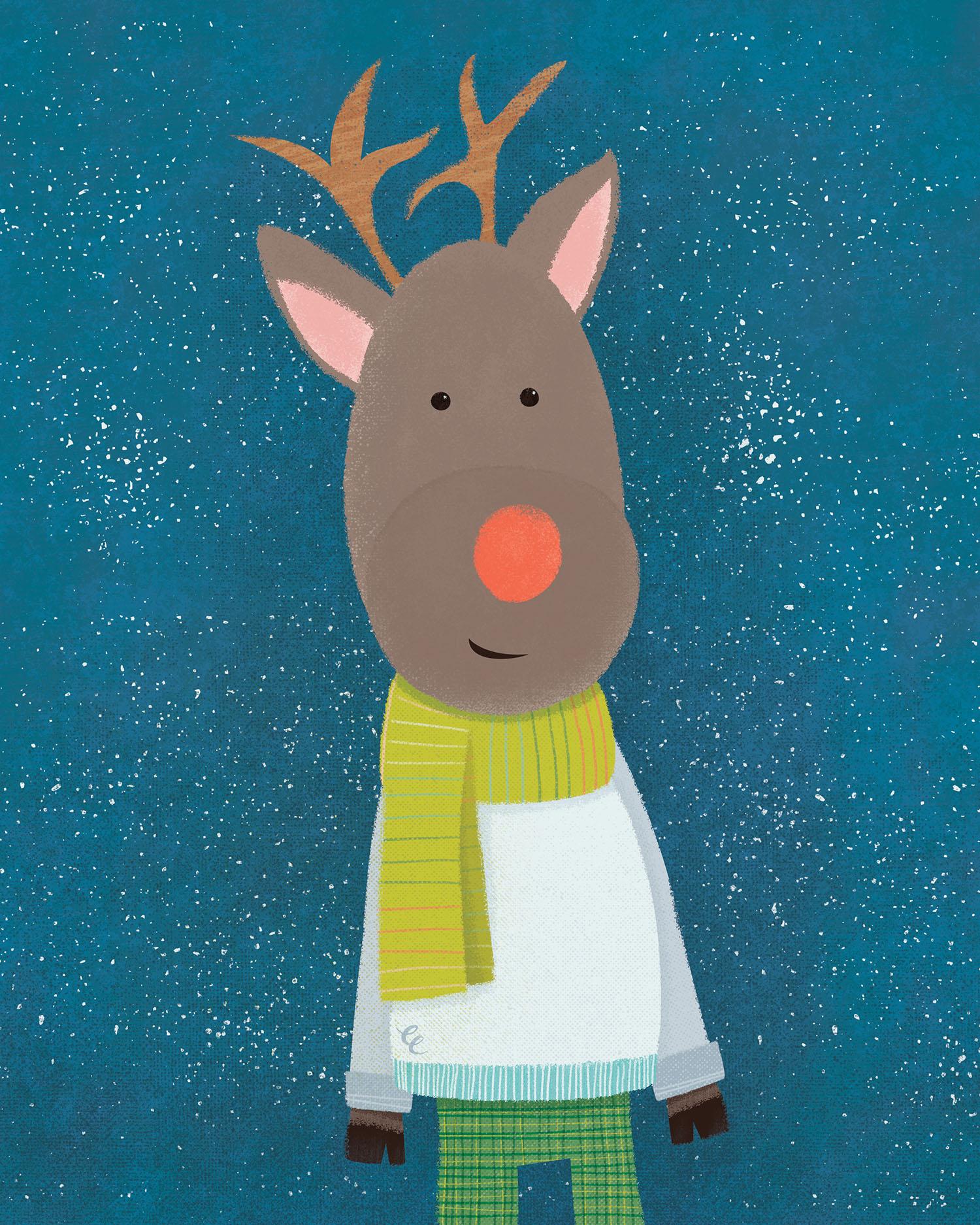 WEEK 47: Wintry Reindeer