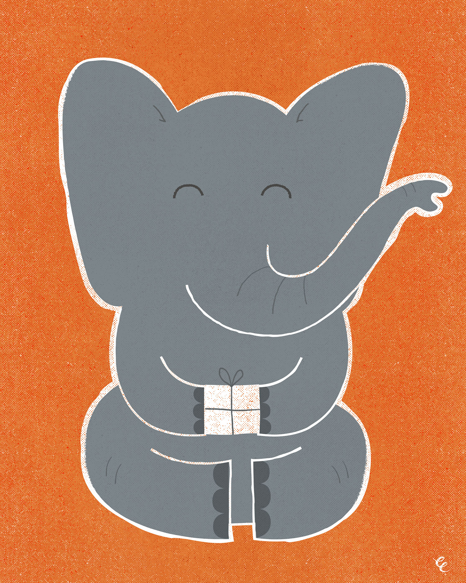 WEEK 48:  Happy Elephant