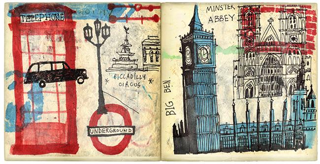 Sketchbook:   Michael Mullan  from  I llustration Friday