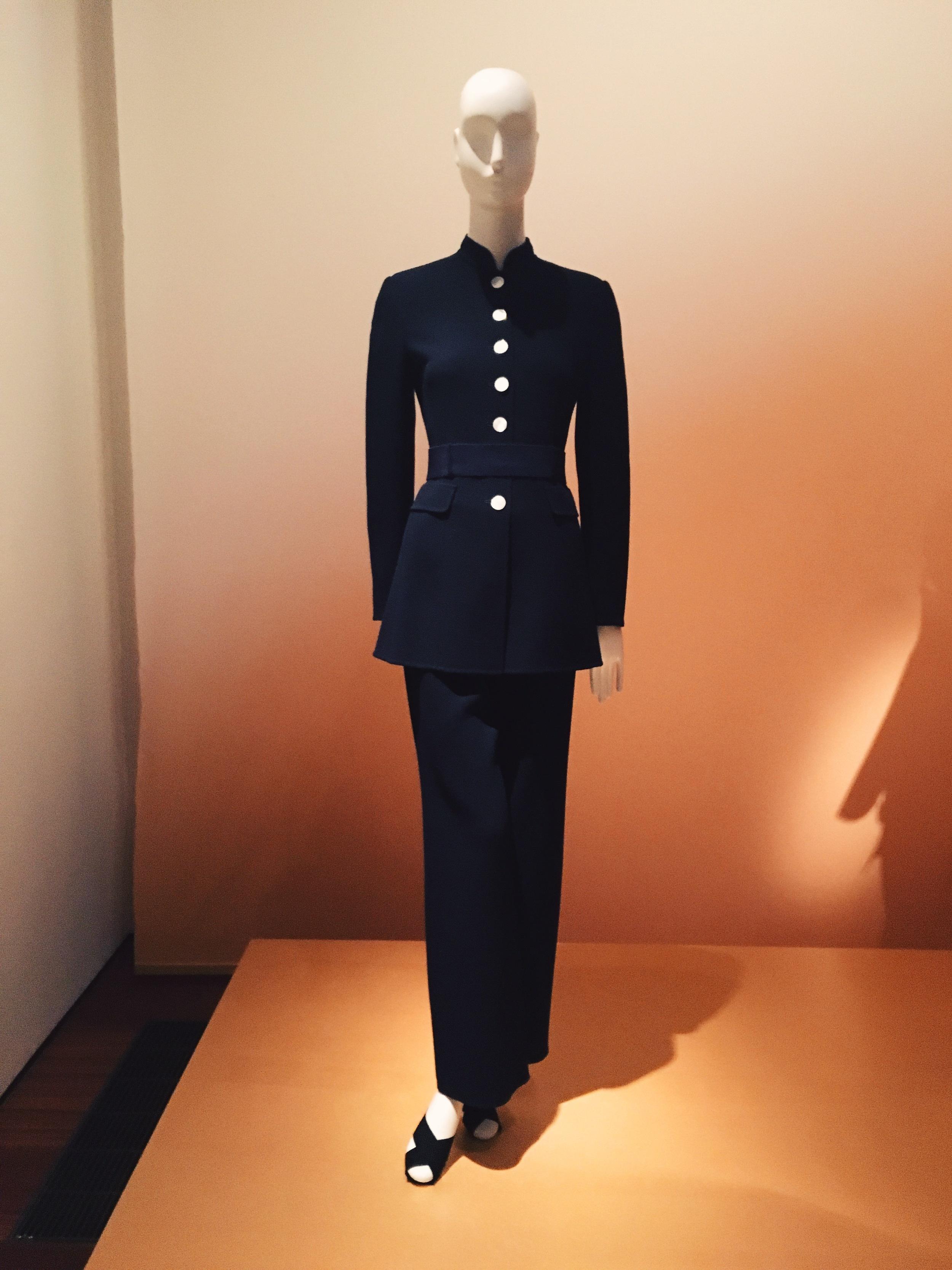 The perfect suit, designed under Pierre Balmain