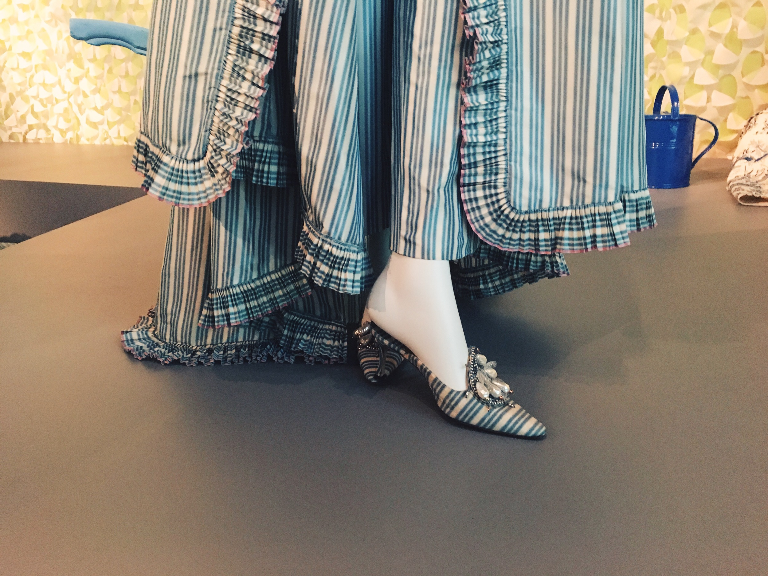 Manolo Blahnik shoes to match