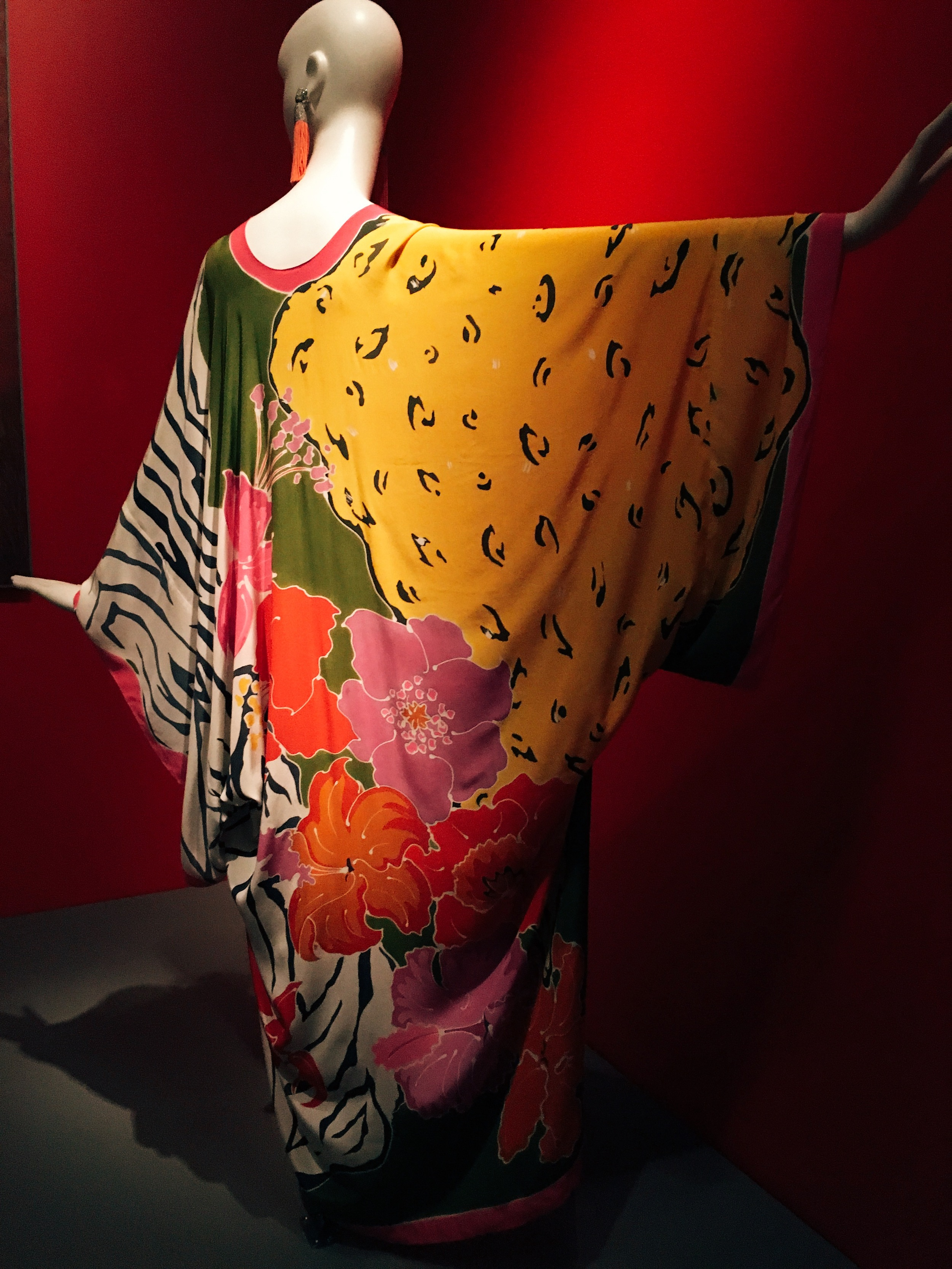 A caftan, inspired during the 70s