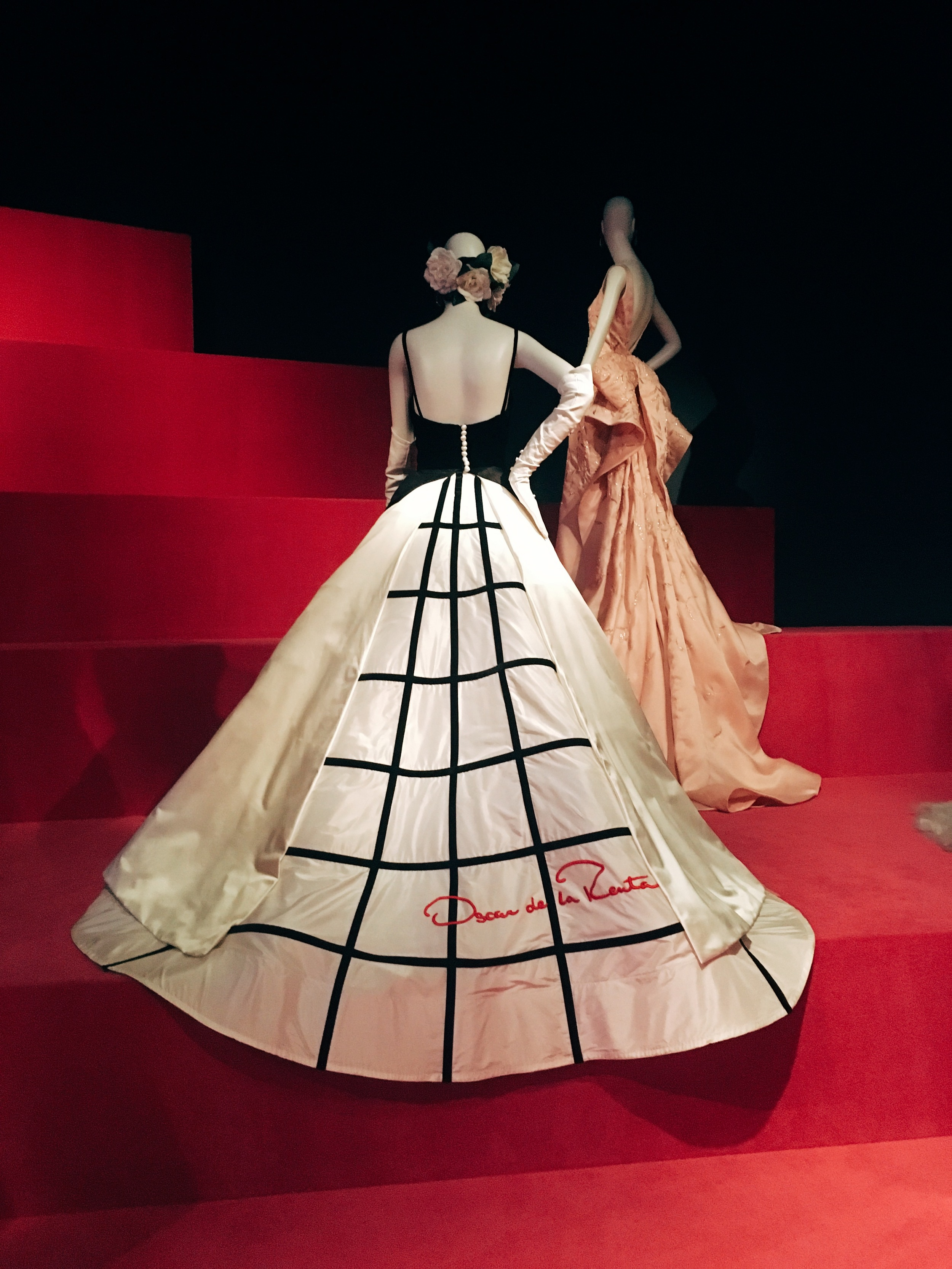Worn by Sarah Jessica Parker at the 2014 Met Gala