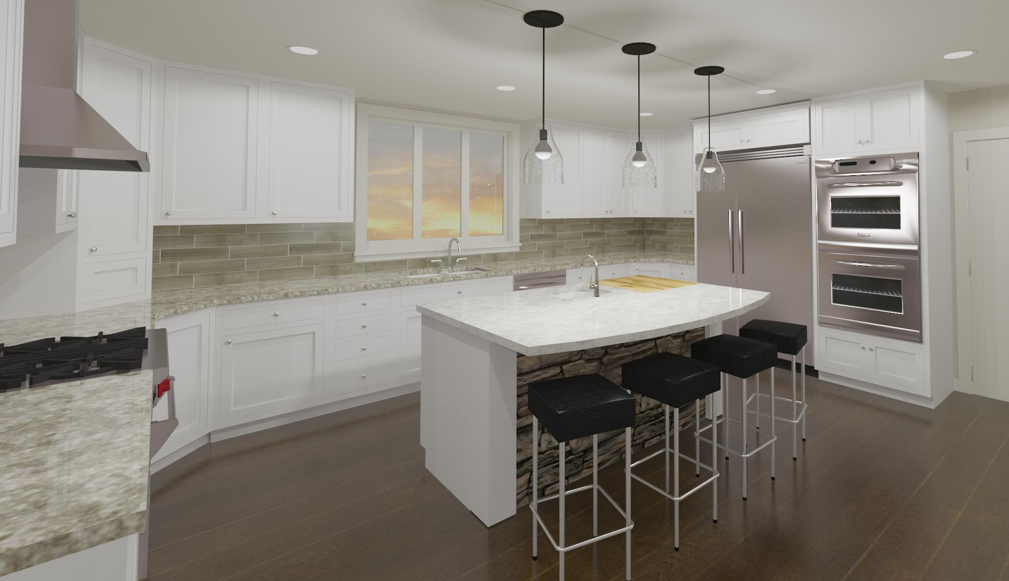 Wattz Residence - Proposed Kitchen Raytrace 2.22.16.jpg