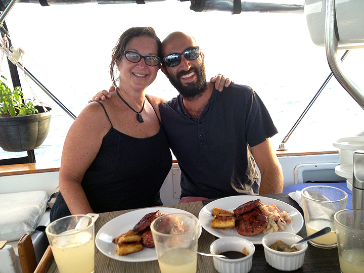 Deb and Brian