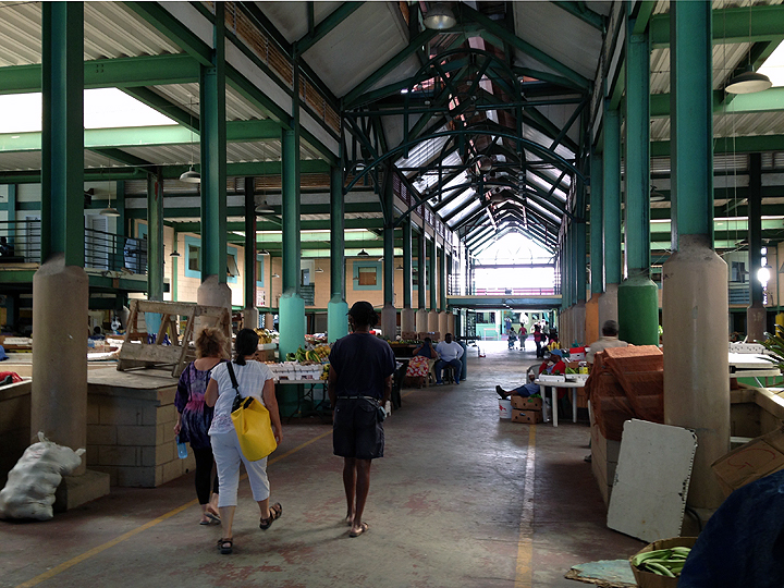 St. John's Vegetable Market (not on market day)