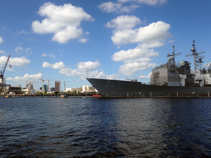 US Navy Yard, Norfolk, Virginia