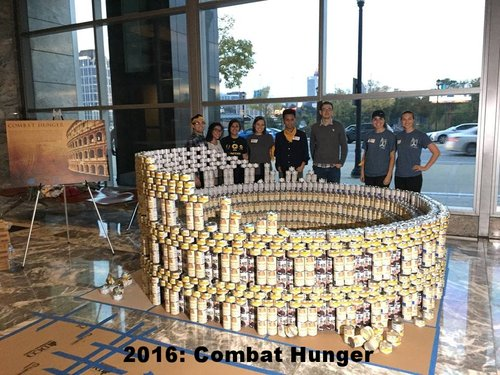 2016: Combat Hunger   Can Count: 5738