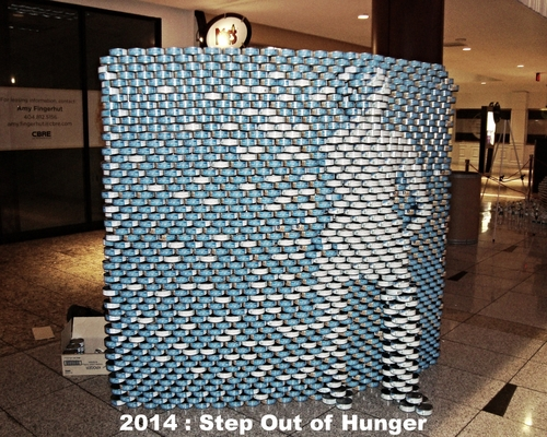 2014: Step Out of Hunger   Can Count: 3000 | Total Donations: $3965