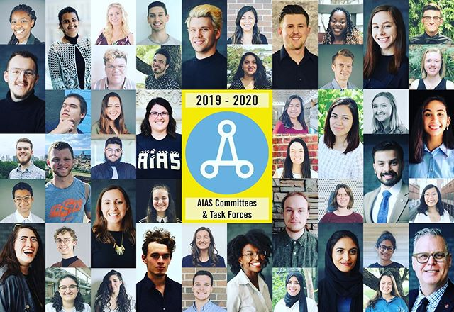Three of our members are part of this year's AIAS Committees & Task Forces. Congratulations to Hala Alfalih on being the chair of the Learning and Technology Task Force, Nelly Mehrjerdian on being a member of the Membership Committee, and Caleb Lawrence on being a member of the Finance Committee! #aias