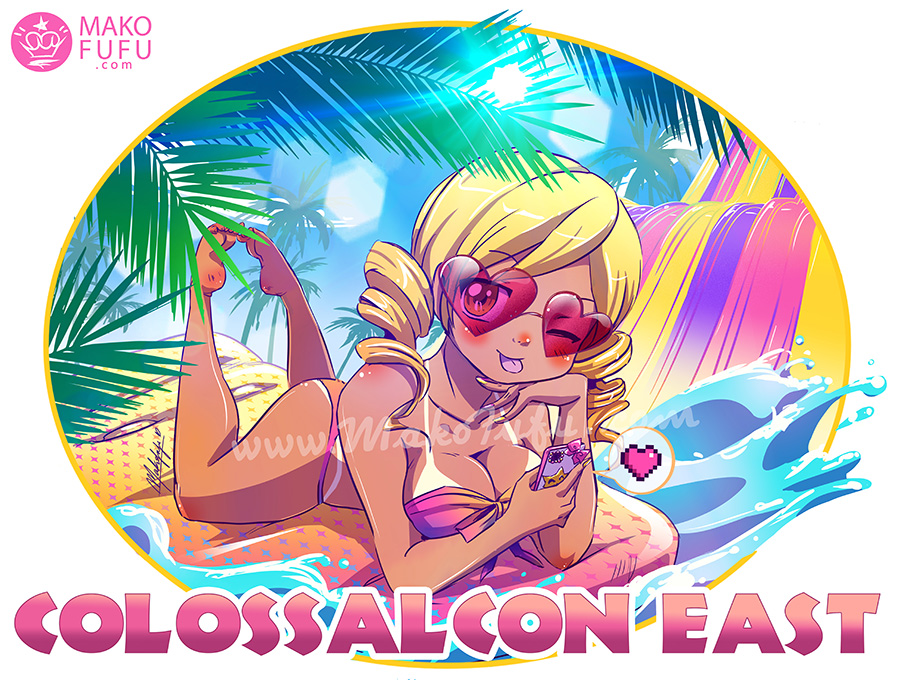 ColossalCon East 2017 - Official T-Shirt Artwork