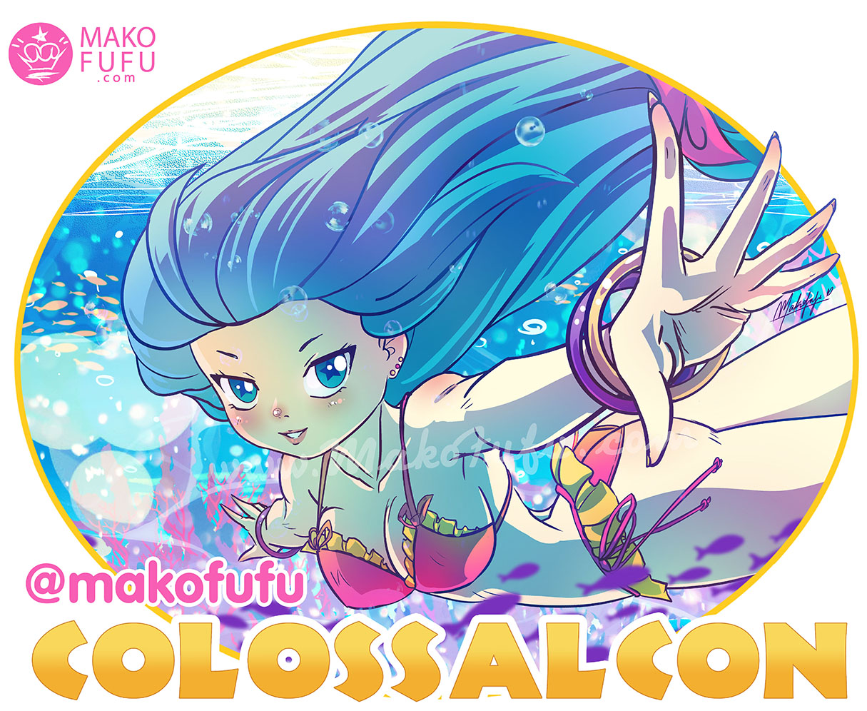 ColossalCon East 2018 - Official T-Shirt Artwork