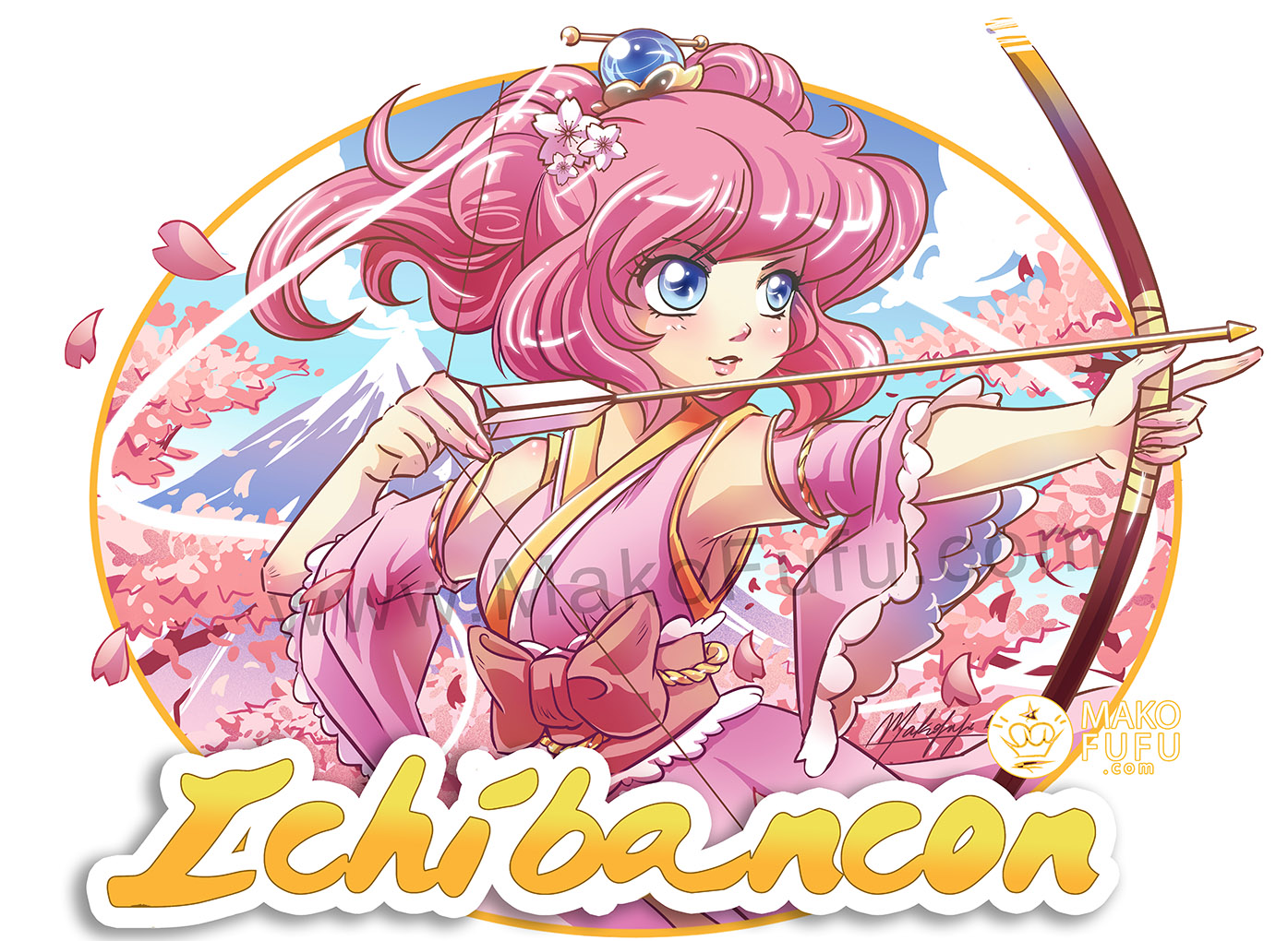 IchibanCon 2018 - Official T-Shirt Artwork