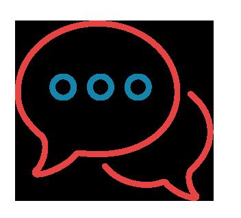 consultation conversation icon
