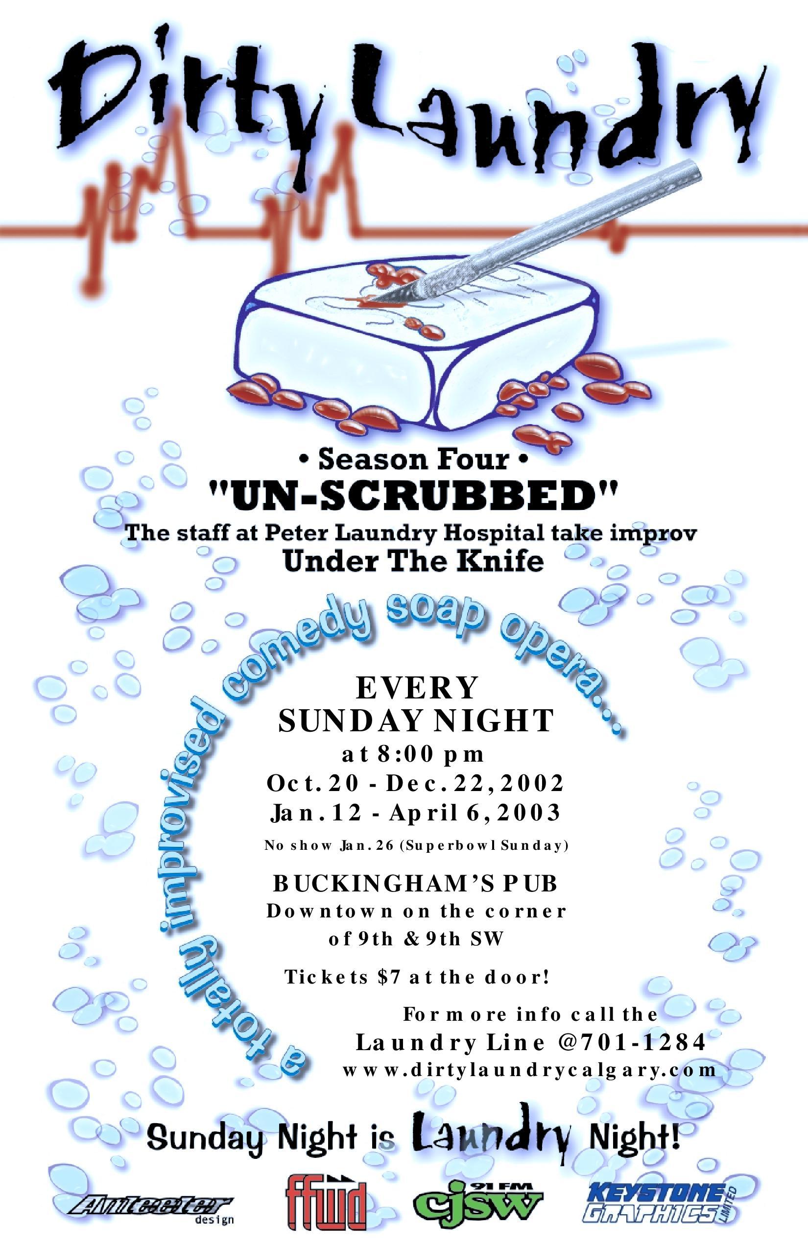 Season 4 -Unscrubbed
