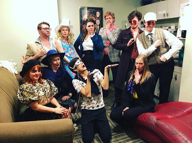 Our cast for the season finale finale!