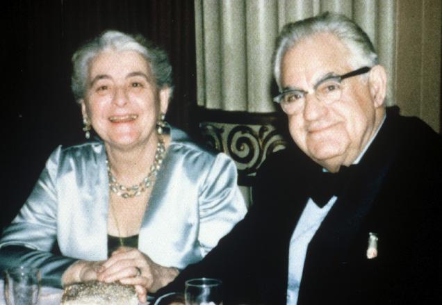 Dr. and Mrs. Nicholas Padis
