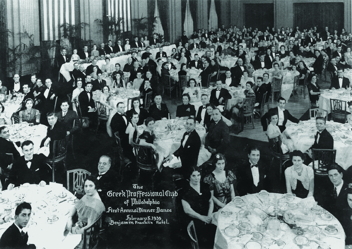 First Annual Dinner Dance, February 5, 1939
