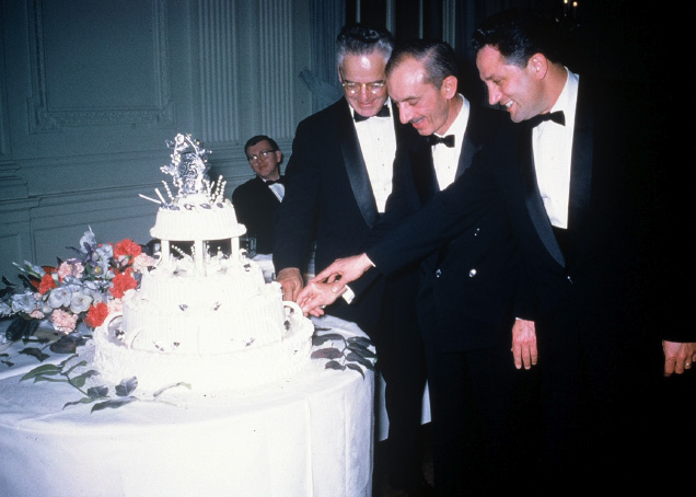 1961 Annual Dinner Dance celebrating the Club's 25th Anniversary
