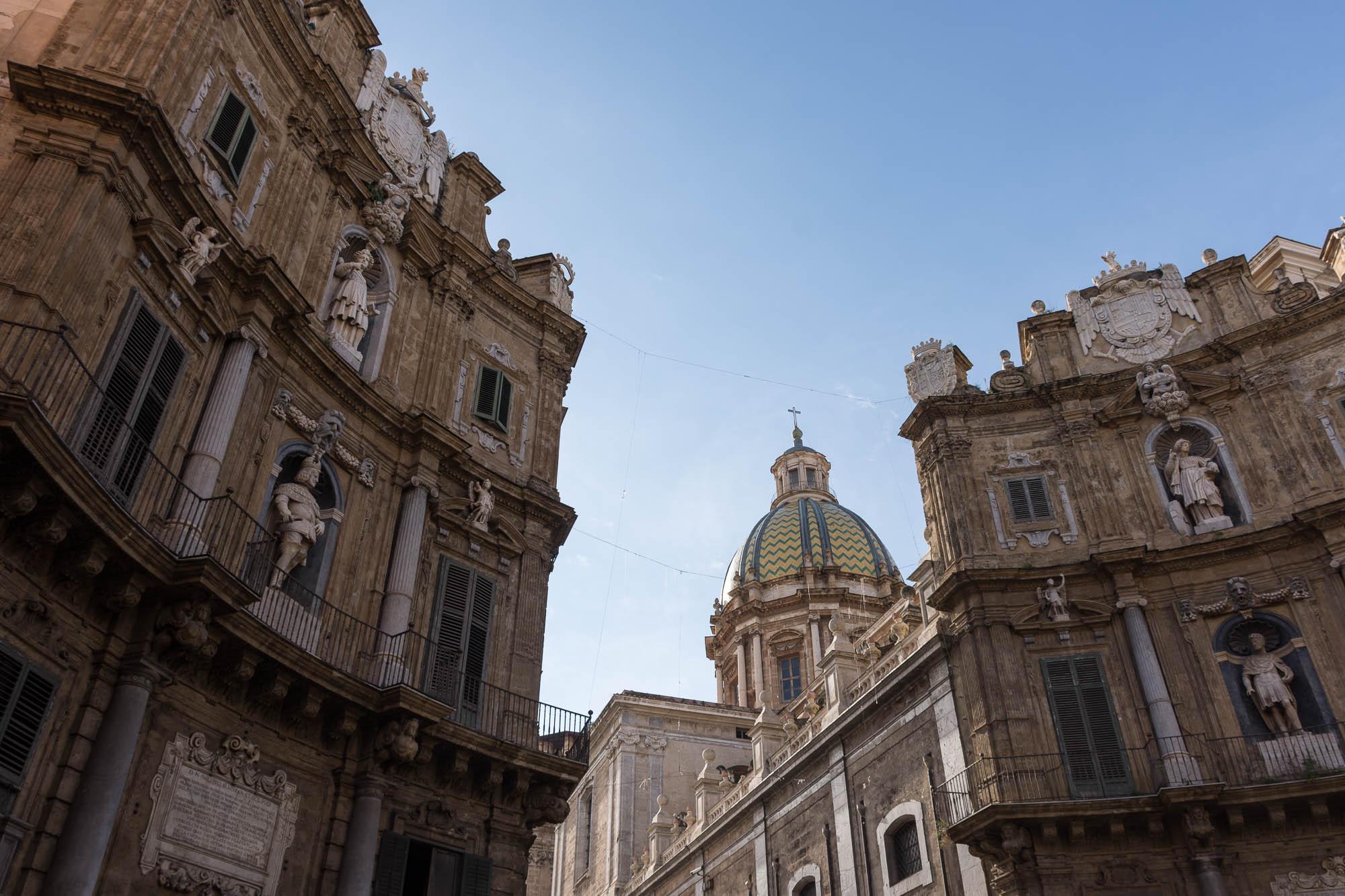 Quattro Canti, Palermo, Sicily