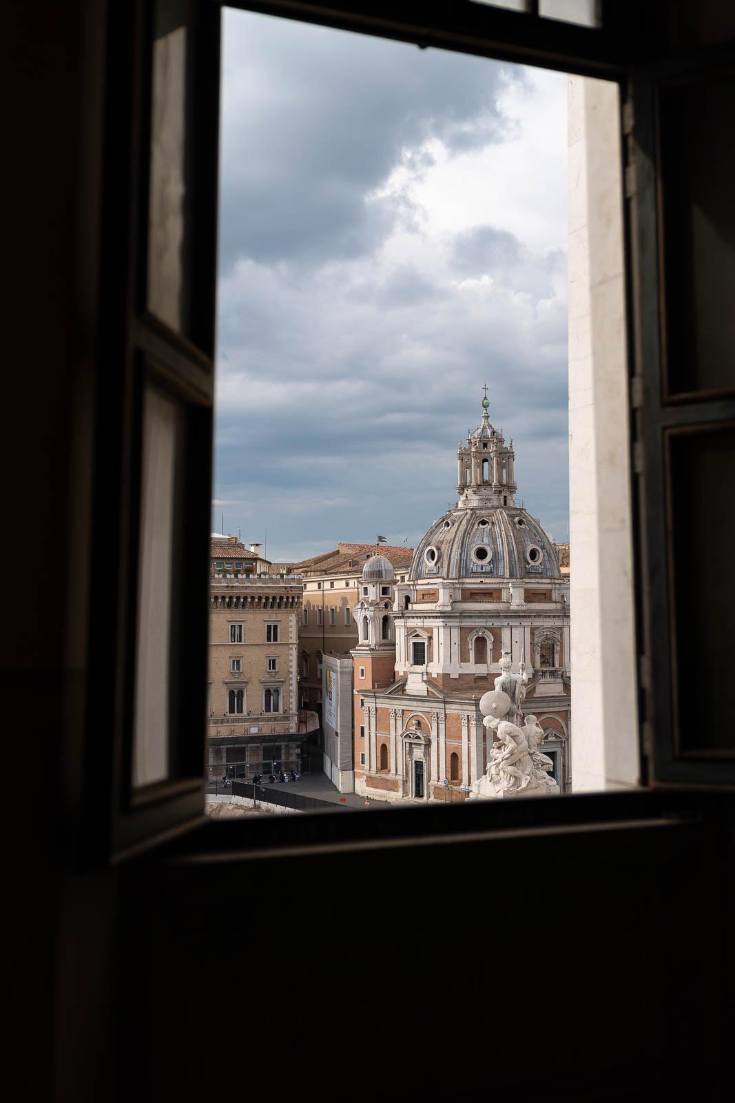 Roma_Chiesa S. Maria di Loreto da Il Vittoriano-6667.JPG