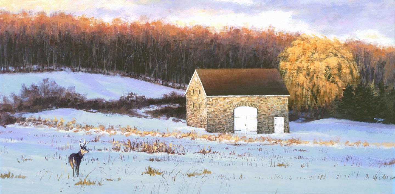 Stone Barn Visitor