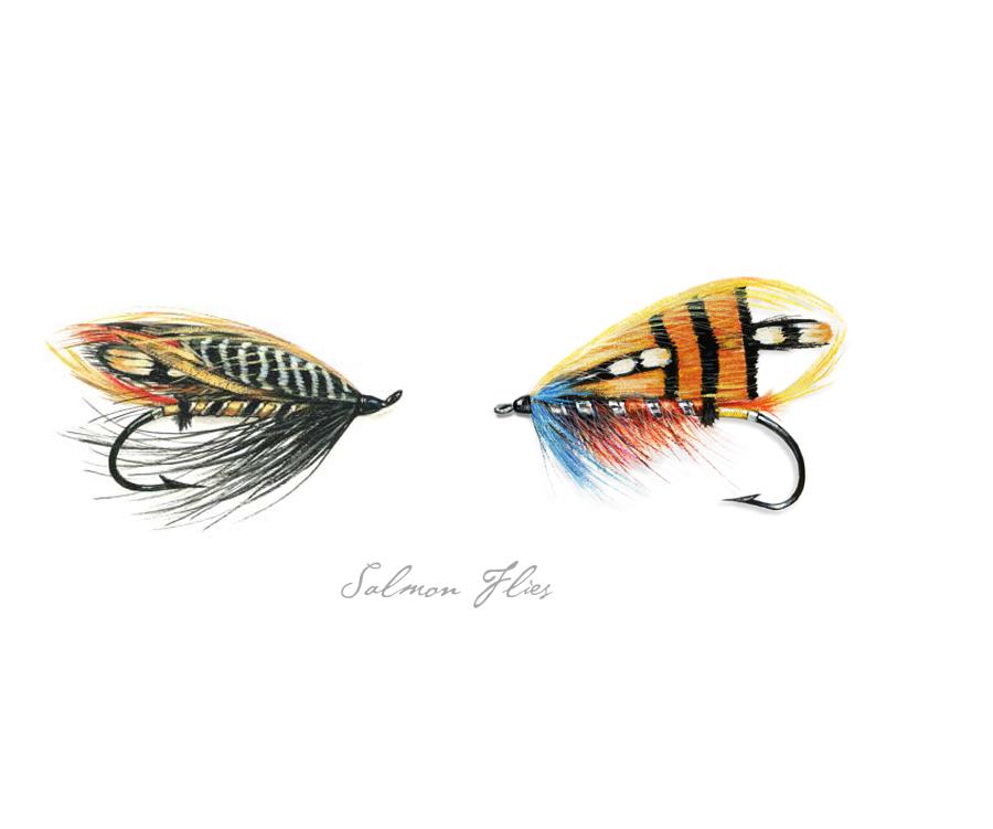 Traditional Salmon Flies