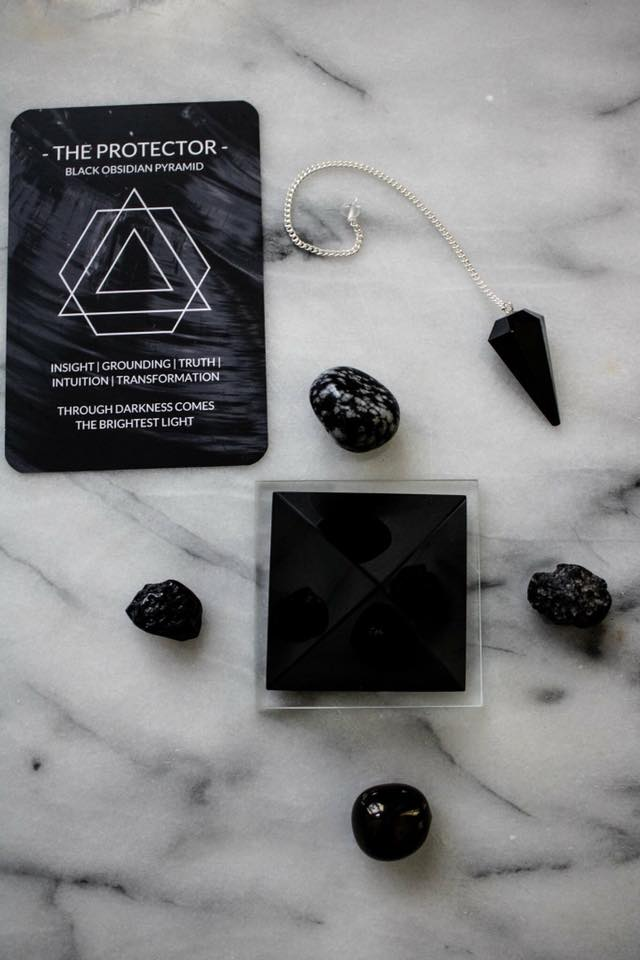 Image of The Protector in an energy pyramid I set up