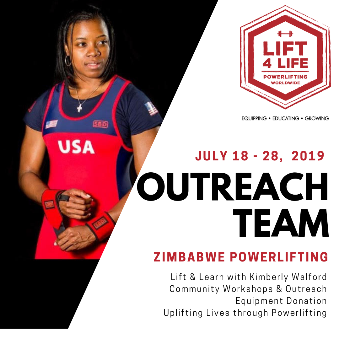 2019 Kim to Zim Outreach Trip - From July 18 - 28th, 2019, Kimberly Walford will be joining the Lift4Life Team in Zimbabwe! And we want to take YOU too!
