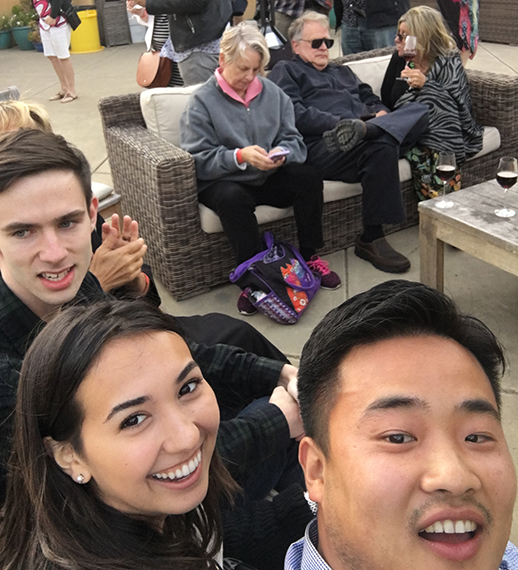 Ivan, Interns, Founders, and Friends