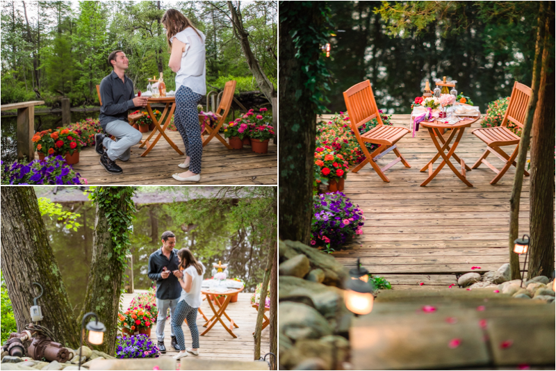 Sweetwater NJ Rustic Style Proposal and Engagement Photos Howard & Sarah 2