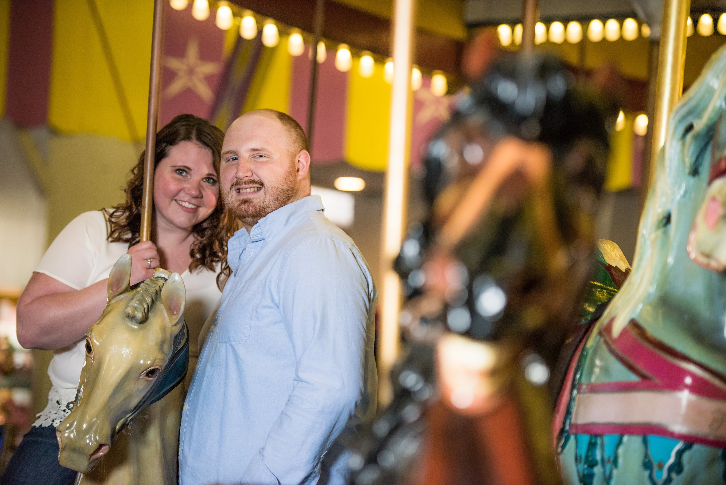 Seaside, NJ Boardwalk & Beach Engagement Photos Jake & Jessica 6