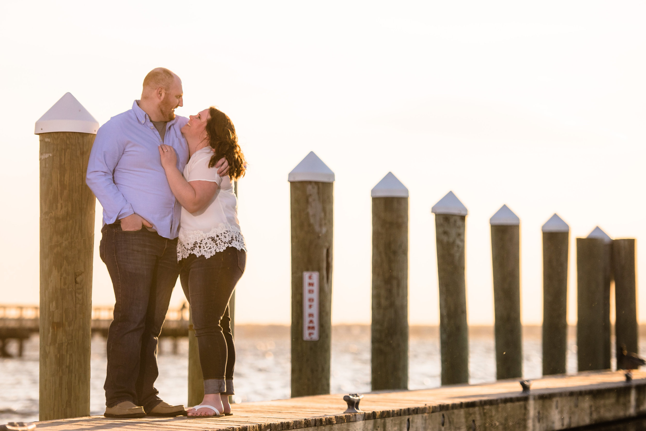 Seaside, NJ Boardwalk & Beach Engagement Photos Jake & Jessica 10
