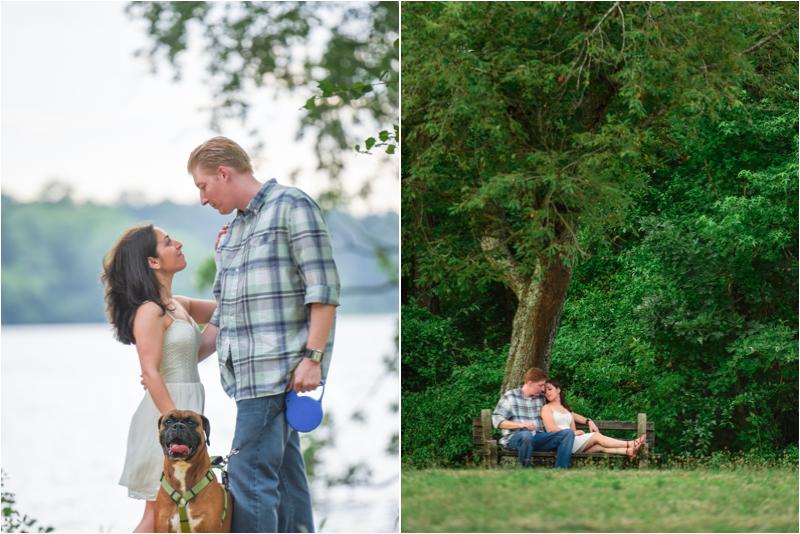 Parvins State Park Engagement Session Brian & Melissa 1